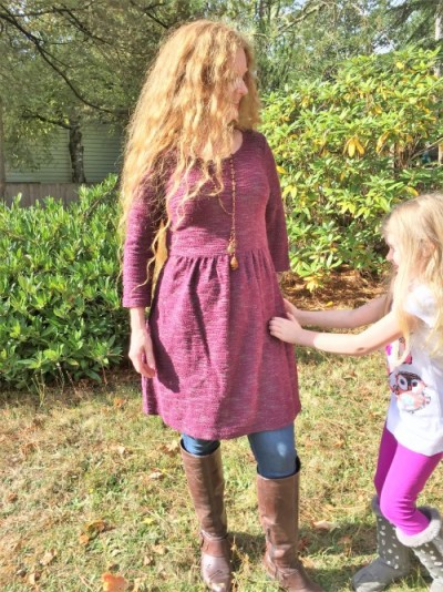 Mom Style: Vintage Wine and Jeans